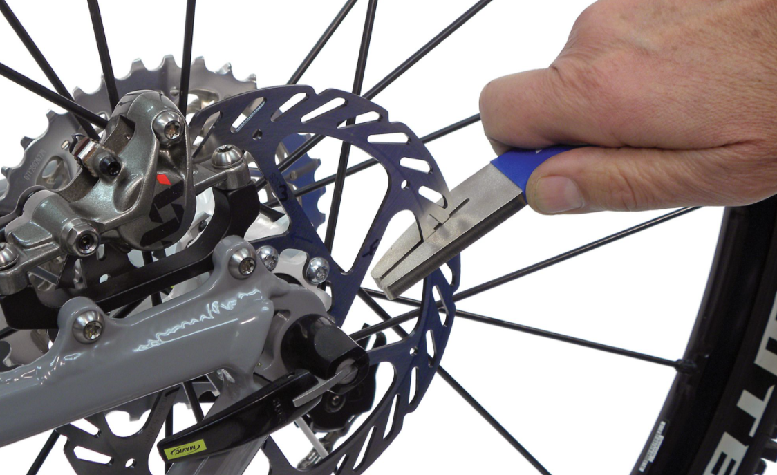bicycle disc brake service